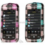 Samsung S30 Instinct Plaid Design Protector Case