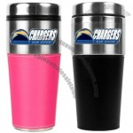 San Diego Chargers 16oz Stainless Steel Travel Tumbler with Sleeve