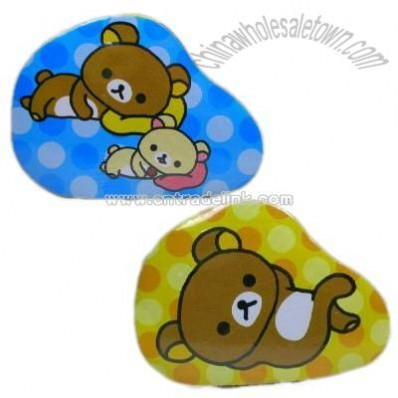 San-X Rilakkuma Relax Bear Compressed Face Towel Wash Cloth