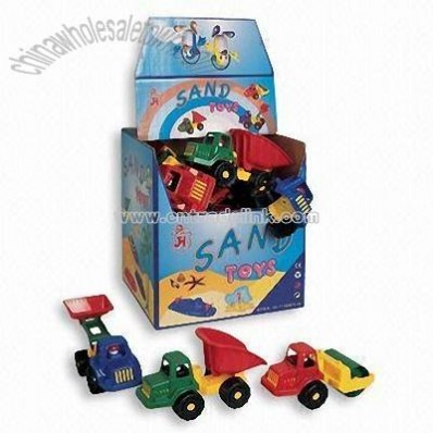 Sand Toy-Plastic Cars