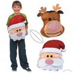 Santa & Reindeer Cushion