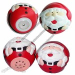 Santa Claus Ball Stress Reliever With Sound Chip