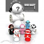 Santa Claus Shape USB Speaker and USB HUB