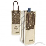 Santa Cruz Single Bottle Wine Tote Bag