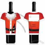 Santa Wine Bottle Gift Card