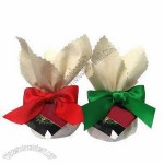 Satin Ribbon Bow With Twist Tie