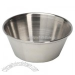 Sauce cup 1 1/2 ounce stainless steel