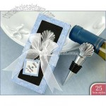 Scallop Shell Bottle Stopper Wedding Favors in Personality Box