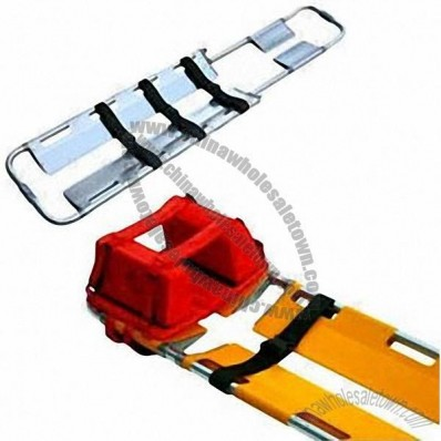 Scooper Stretcher with Head Immobilizer