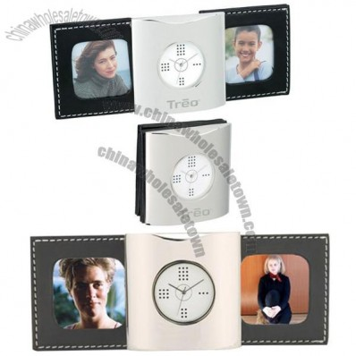 Scorrevole Clock and 2 Photo Frame