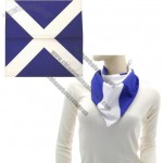 Scottish Flag Cotton Bandana
