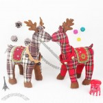 Scottish Style Christmas Elk Doll