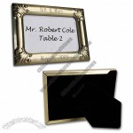 Scroll Cornered Gold Place Card Frame