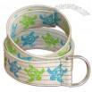 Sea Turtle Canvas Belt