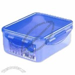 Sealed Rectangular Case for Food Storage