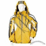 Seamless Nylon Windbreaker with Draping