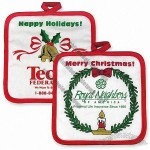 Season's Greetings Pot Holders