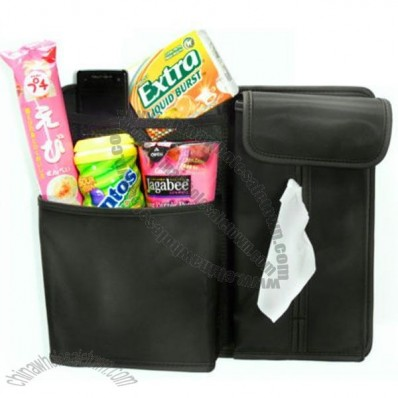 Seat Back Pocket Muti Storage Tissue Box