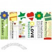 Seed Card-Flower Card-Flower Bookmark