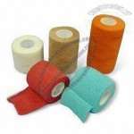 Self Adhesive Bandages, Made of 100% Cotton