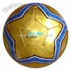 Semi PU Leather Handsewn Soccer Ball Size
