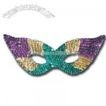 Sequin Harlequin Mask (Multi-Color)