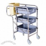 Service Trolley for Hotel Supplies