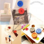 Sewing Button Fridge Magnets