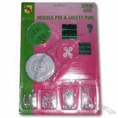 Sewing Kit for Housework, Very Useful and Convenient, Includes Plastic Buttons, Scissors