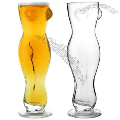 Sexy Beer Glass 17.6oz / 500ml