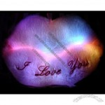 Sexy Lip Colorful LED Light Cushion Pillow