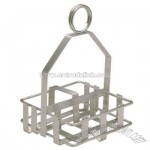 Shaker / packet rack heavy duty chrome plated steel