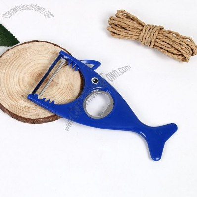 Shaker Peeler with Bottle Opener