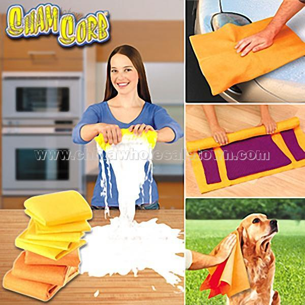 Sham Sorb Cleaning Towel As Seen On Tv Product Cleaning Cloths
