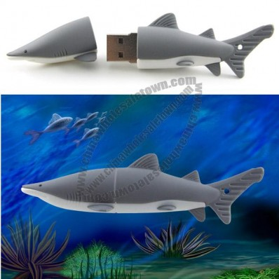 Shark Shaped USB Flash Drive