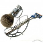 Shaving Set with Silvertip Badger Brush and 5 Blade Razor