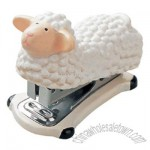 Sheep Shape Wooden Cartoon Stapler