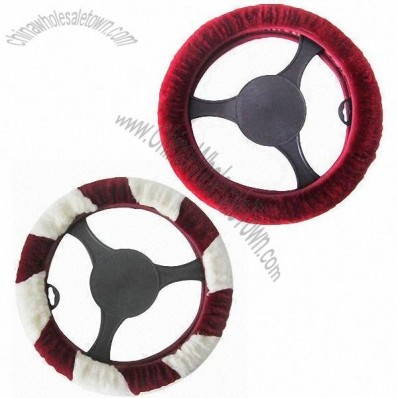 Sheepskin Steering Wheel Cover with Good Texture