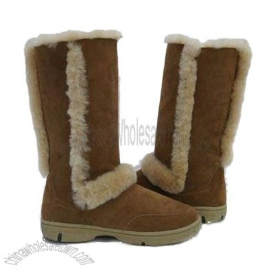 Sheepskin UGG Snow Boots with EVA Outsole