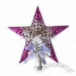 Shiny Star Christmas Tree Topper