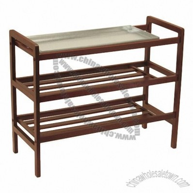 Shoe Rack with Shelf
