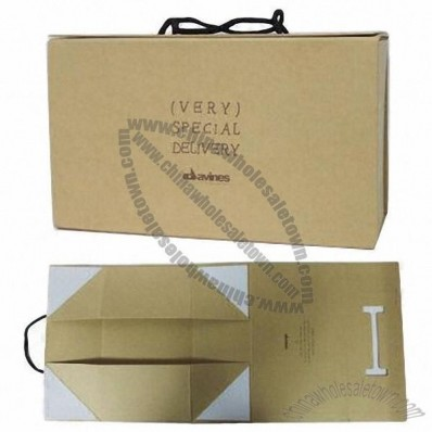 Shoes Box, Foldable Design with Flat Packing Way