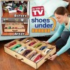 Shoes Under Organizer As Seen On TV
