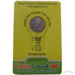 Shopping Coin Card