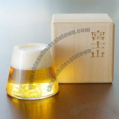Shot Glass with Wooden Packing