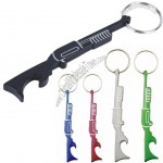 Shot Gun bottle opener key chain