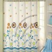 Shower Curtain, Used for Home and Hotels