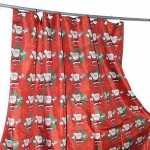 Shower Curtain With 12 Shower Hooks