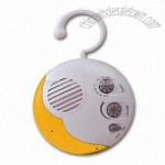 Shower Radio with Detachable Hook