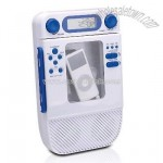 Shower iPod Docking Station with AM/FM Radio